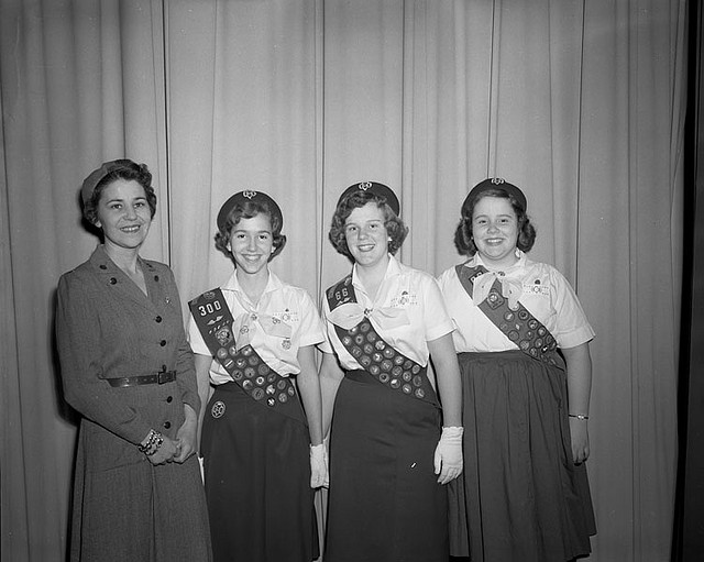 Old-school Girl Scouts. (Flickr Creative Commons)