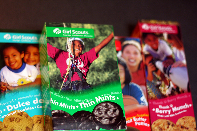 It's cookie time. Have you found your GirlScout?